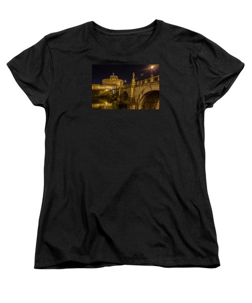 Women's T-Shirt (Standard Cut) featuring the photograph Castel Sant'angelo by Ed Cilley
