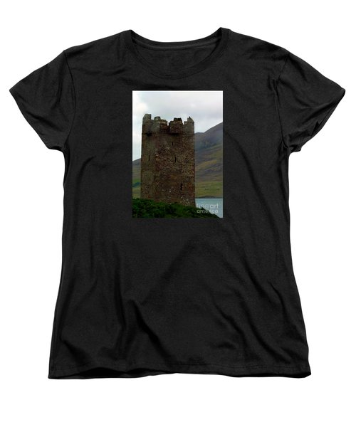 Castle Of The Pirate Queen Women's T-Shirt (Standard Cut) by Patricia Griffin Brett