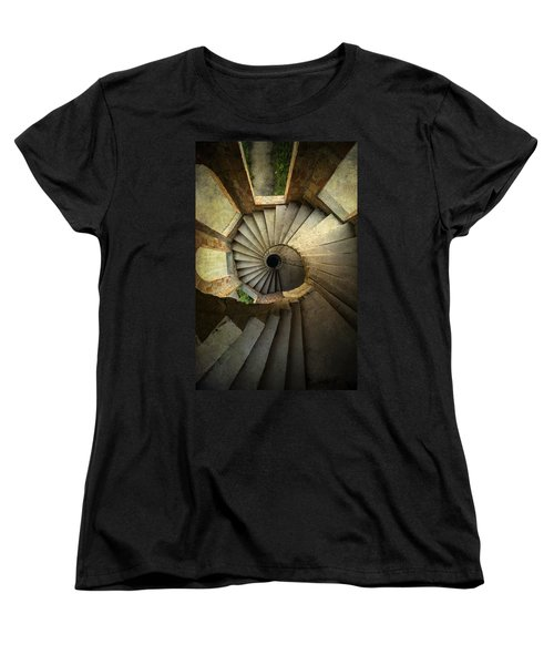 Castle Of Unfinished Dreams Women's T-Shirt (Standard Cut) by Jaroslaw Blaminsky
