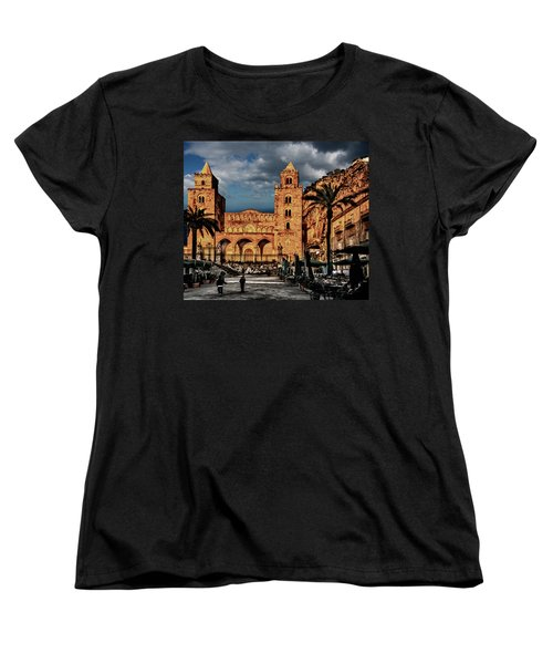 Cathedral  Women's T-Shirt (Standard Cut) by Patrick Boening