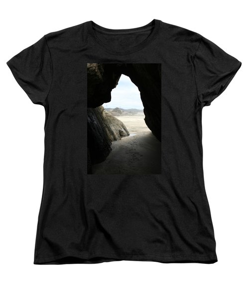 Women's T-Shirt (Standard Cut) featuring the photograph Cave Dweller by Holly Ethan