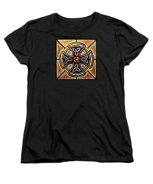 Celtic Cross 2 Women's T-Shirt (Standard Cut) by Jim Harris