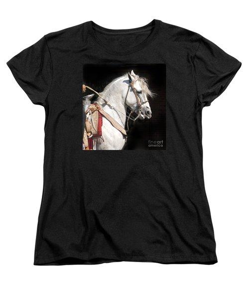 Charro Stallion Women's T-Shirt (Standard Cut) by Jim and Emily Bush