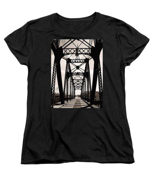 Cherry Avenue Bridge Women's T-Shirt (Standard Cut) by Kyle Hanson