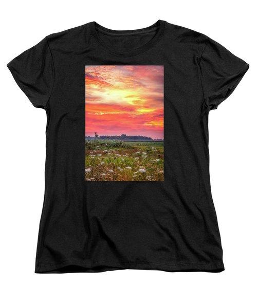 Chesapeake Sunrise I Women's T-Shirt (Standard Cut) by David Cote