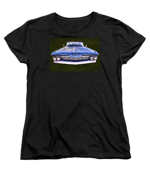 Chevrolet Women's T-Shirt (Standard Cut) by Jerry Golab