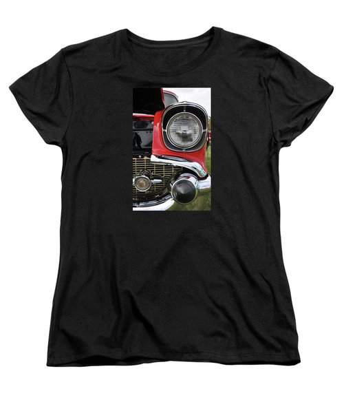 Women's T-Shirt (Standard Cut) featuring the photograph Chevy Bel Air by Glenn Gordon