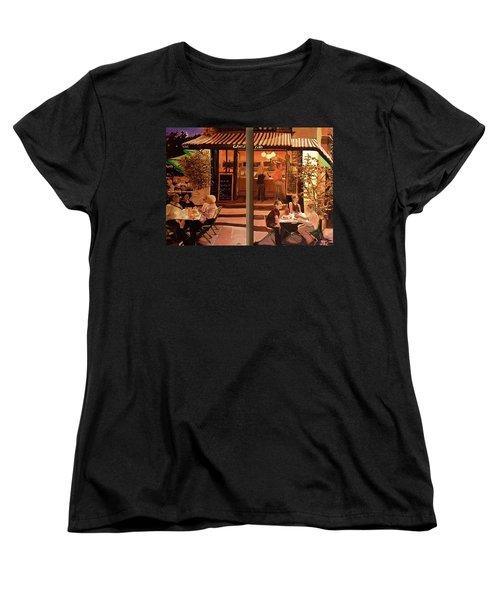 Chez Tim Women's T-Shirt (Standard Cut) by Julie Todd-Cundiff