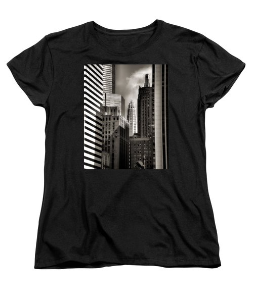 Chicago Architecture - 13 Women's T-Shirt (Standard Cut) by Ely Arsha