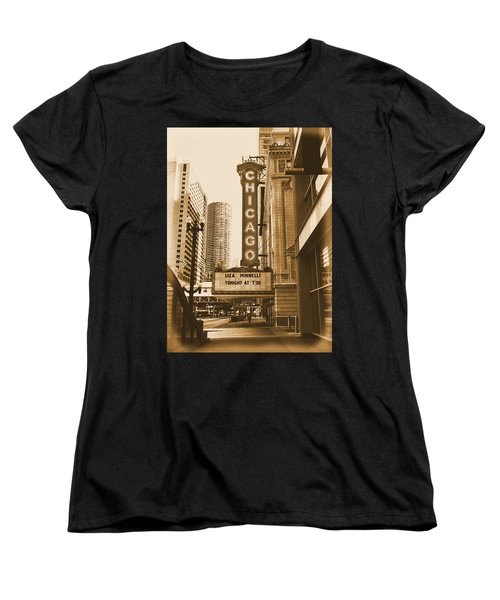 Chicago Theater - 3 Women's T-Shirt (Standard Cut) by Ely Arsha