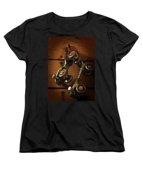 Childhood Memories Women's T-Shirt (Standard Cut) by Fran Riley