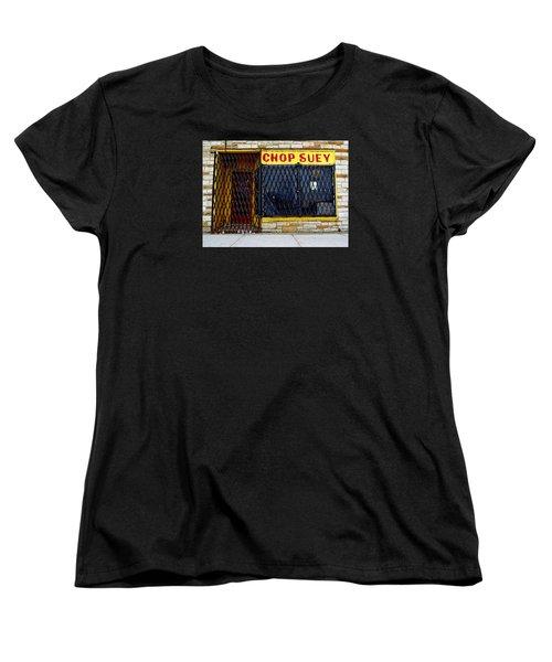 Chop Suey Women's T-Shirt (Standard Cut) by David Gilbert