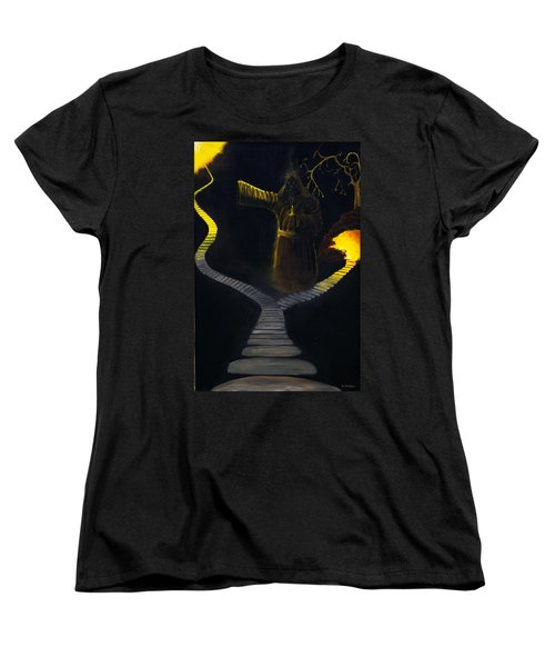 Chosen Path Women's T-Shirt (Standard Cut) by Brian Wallace