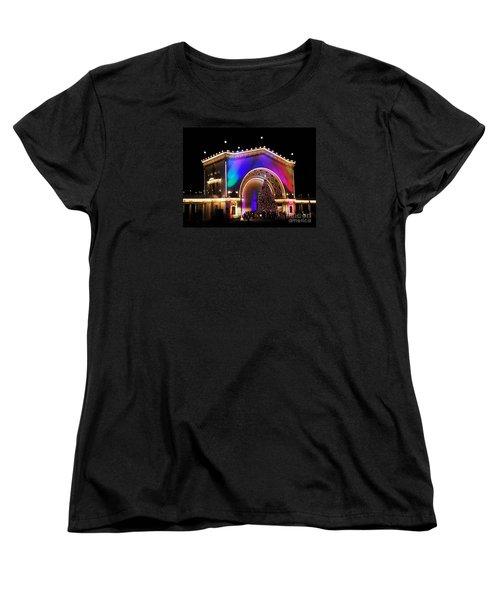 Christmas Celebration In San Diego  Women's T-Shirt (Standard Cut)