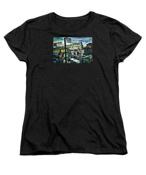 Christopher Street Greenwich Village  Women's T-Shirt (Standard Cut)