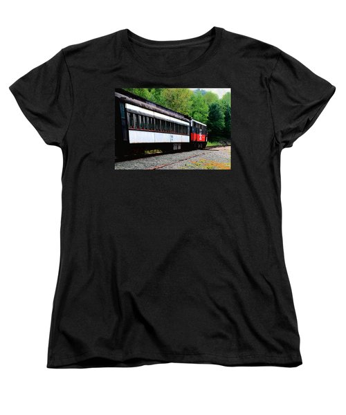 Chugging Along Women's T-Shirt (Standard Cut) by RC DeWinter