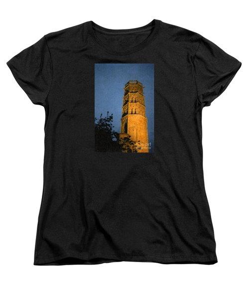 Women's T-Shirt (Standard Cut) featuring the photograph Church Steeple by Jean Bernard Roussilhe