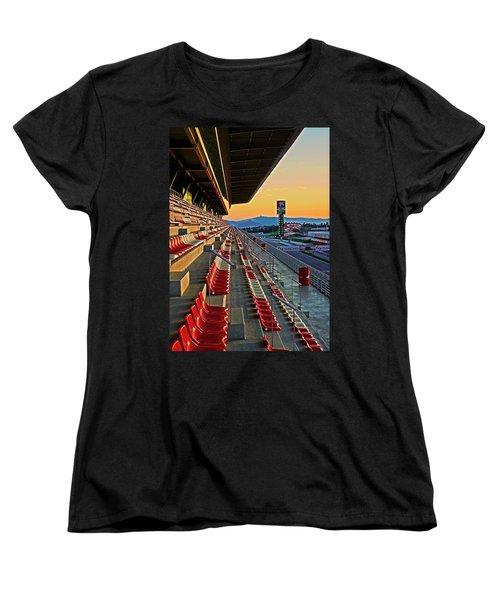 Circuit De Catalunya - Barcelona  Women's T-Shirt (Standard Cut) by Juergen Weiss