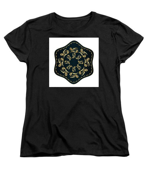 Circularium No. 2560 Women's T-Shirt (Standard Cut) by Alan Bennington