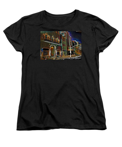Women's T-Shirt (Standard Cut) featuring the photograph City Scene by EricaMaxine  Price