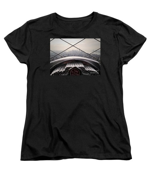 Women's T-Shirt (Standard Cut) featuring the photograph City View by MGL Meiklejohn Graphics Licensing