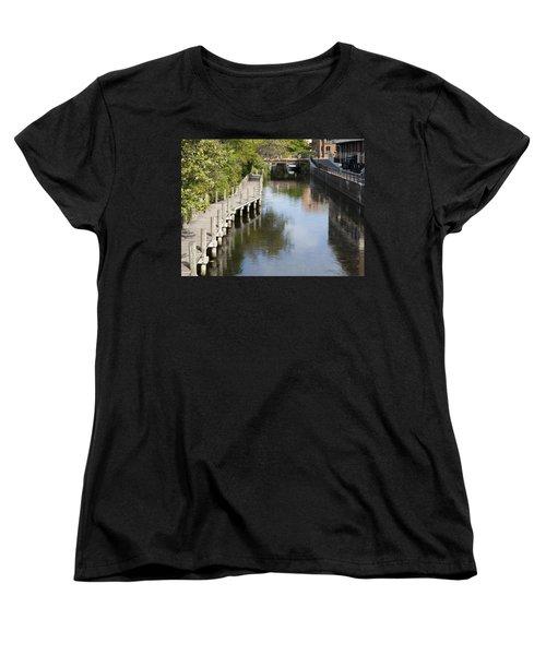 City Waterway Women's T-Shirt (Standard Cut) by Tara Lynn