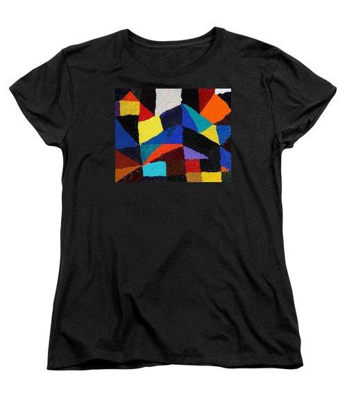 Cityscape Women's T-Shirt (Standard Cut) by Ralph White