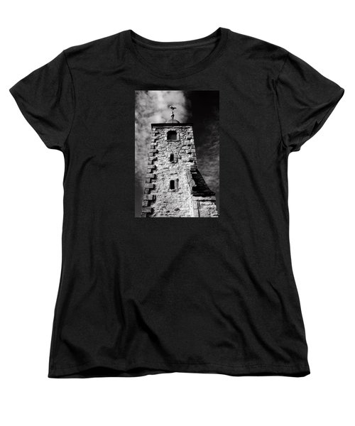 Clackmannan Tollbooth Tower Women's T-Shirt (Standard Cut) by Jeremy Lavender Photography