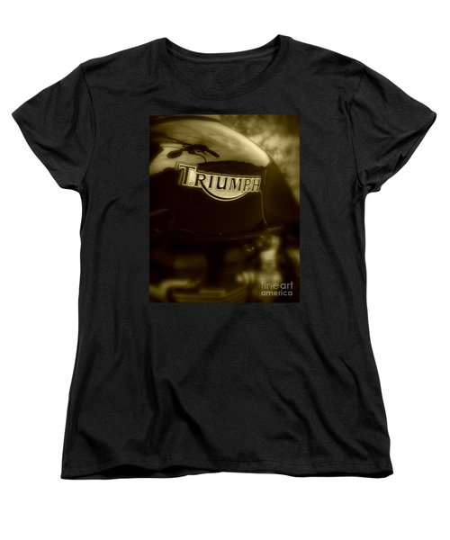 Classic Old Triumph Women's T-Shirt (Standard Cut) by Perry Webster