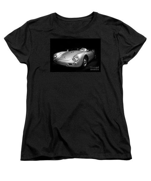 Classic Porsche Women's T-Shirt (Standard Cut) by Perry Webster