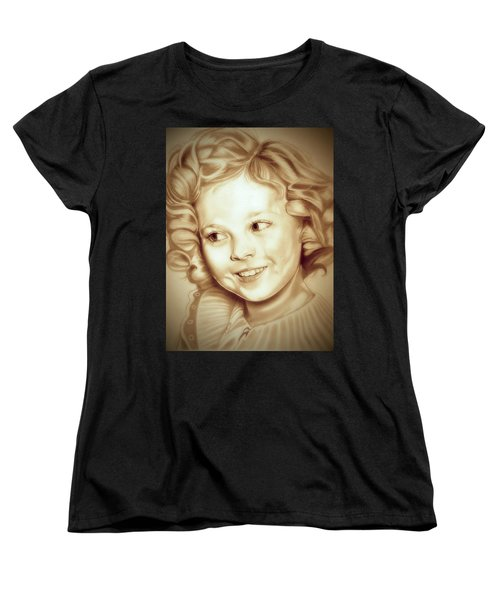 Classic Shirley Temple Women's T-Shirt (Standard Cut) by Fred Larucci