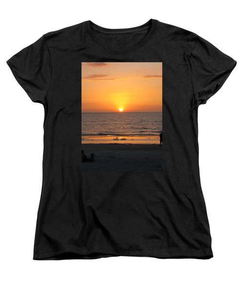 Clear Sunset Women's T-Shirt (Standard Cut) by Clara Sue Beym