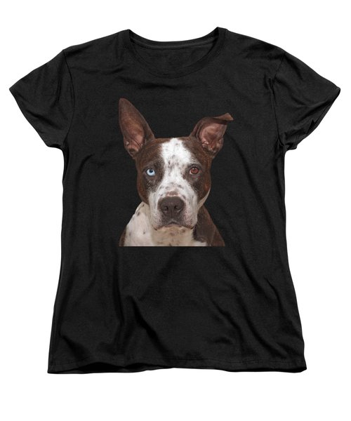 Women's T-Shirt (Standard Cut) featuring the photograph Cleo  by Brian Cross