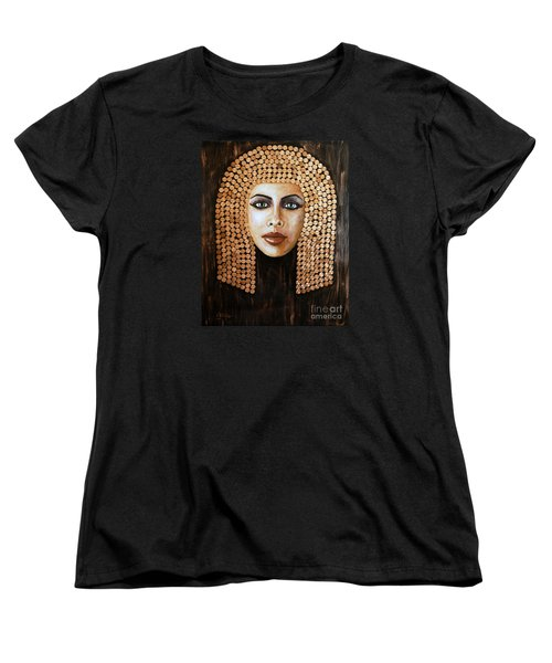Cleopatra Women's T-Shirt (Standard Cut) by Arturas Slapsys