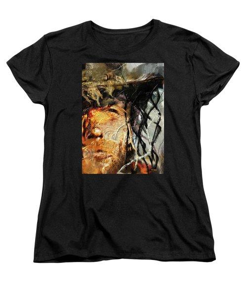 Clint Eastwood Women's T-Shirt (Standard Cut) by Michael Cleere