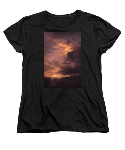 Clouds Women's T-Shirt (Standard Cut) by Clayton Bruster