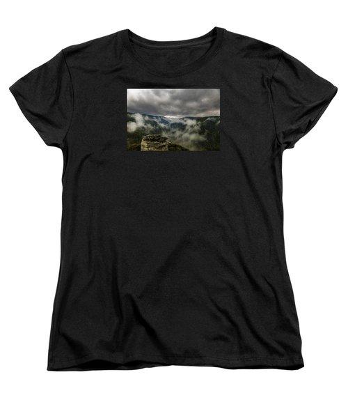 Clouds Rising At Lindy Point Women's T-Shirt (Standard Cut)