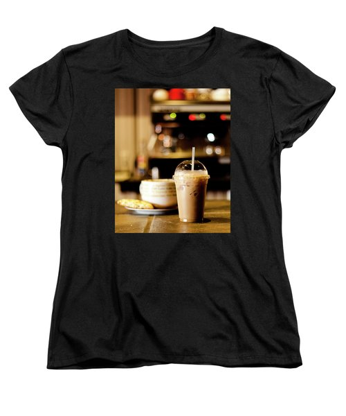 Coffee Bar Atmosphere Women's T-Shirt (Standard Cut)