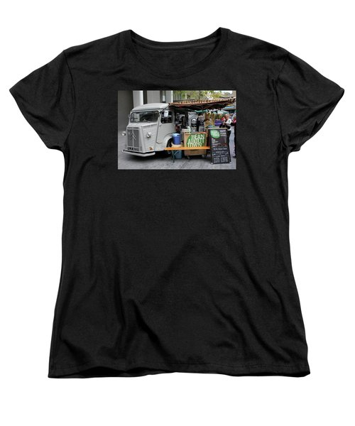 Coffee Truck Women's T-Shirt (Standard Cut) by Christin Brodie