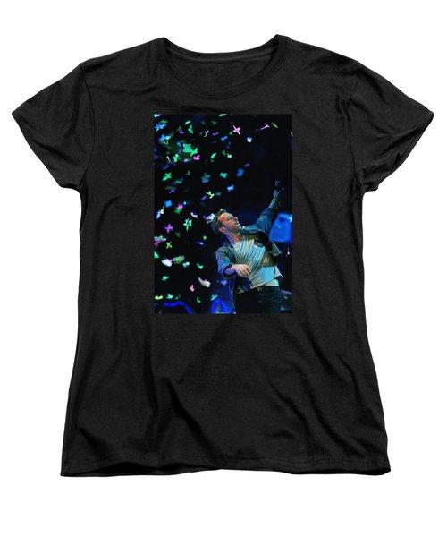 Coldplay1 Women's T-Shirt (Standard Cut) by Rafa Rivas