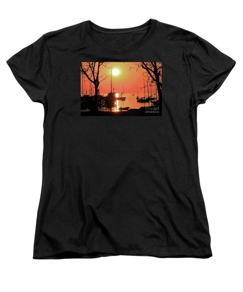 Women's T-Shirt (Standard Cut) featuring the photograph Colonia Del Sacramento I by Bernardo Galmarini
