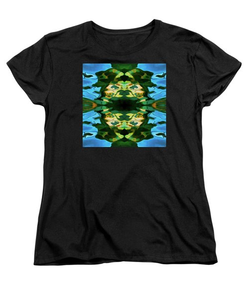 Women's T-Shirt (Standard Cut) featuring the photograph Color Abstraction Lxv by David Gordon