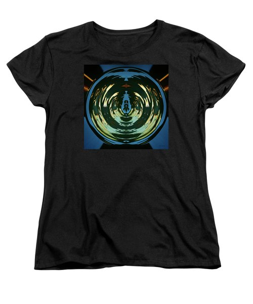 Women's T-Shirt (Standard Cut) featuring the photograph Color Abstraction Lxx by David Gordon