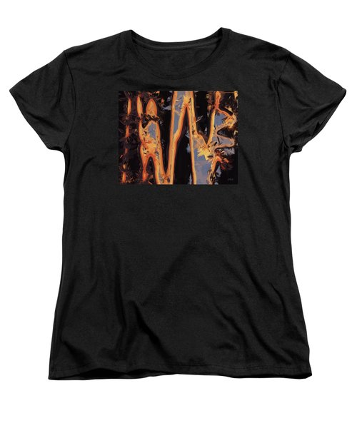 Color Abstraction Xli Women's T-Shirt (Standard Cut) by David Gordon