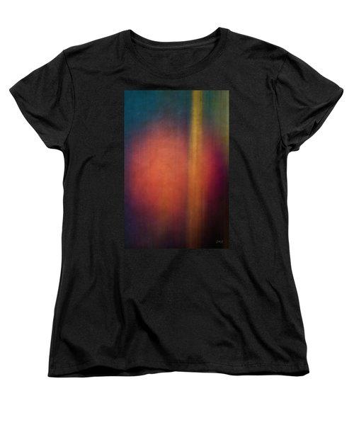 Color Abstraction Xxvii Women's T-Shirt (Standard Cut) by David Gordon