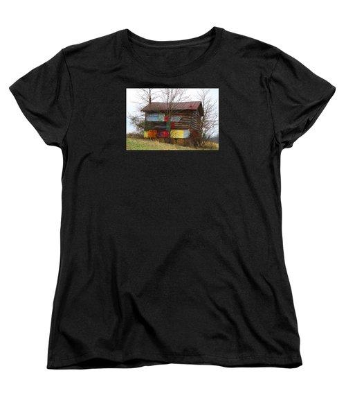Colorful Barn Women's T-Shirt (Standard Cut)