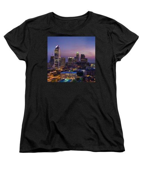 Colorful Charlotte Women's T-Shirt (Standard Cut) by Serge Skiba