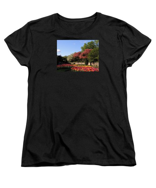 Women's T-Shirt (Standard Cut) featuring the photograph Colors Of May by Teresa Schomig