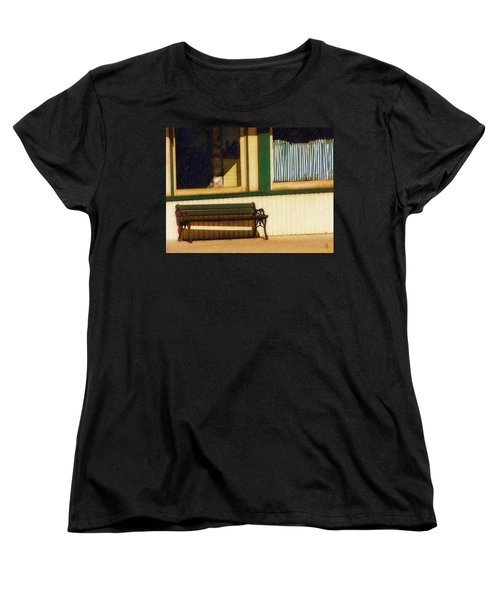 Women's T-Shirt (Standard Cut) featuring the photograph Come Sit A Spell by Sandy MacGowan