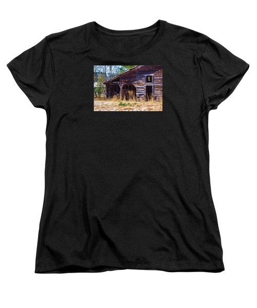 Coming Apart With Character Women's T-Shirt (Standard Cut) by Roberta Byram